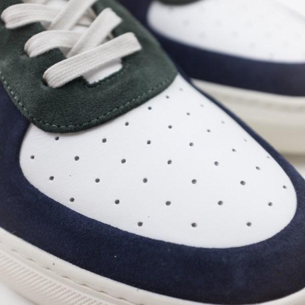 Filippa K Robert Low Mix Sneaker Limestone-Navy-White Mix