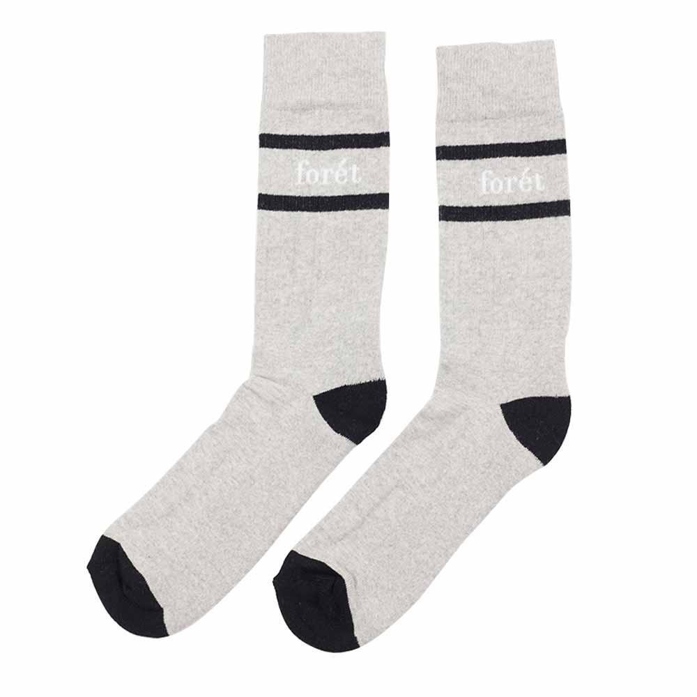forét Ant Sock - Grey - Black