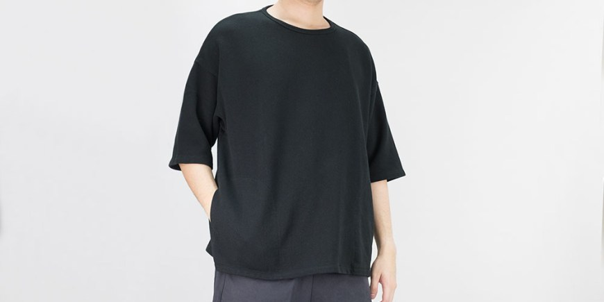 Kuro Kanoko Big Pocket Tee blog