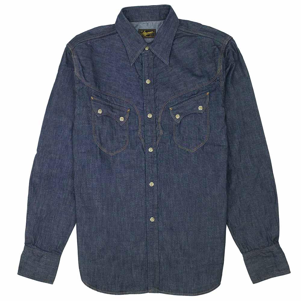 Stevenson Overall Co. Cody Shirt - Indigo 1