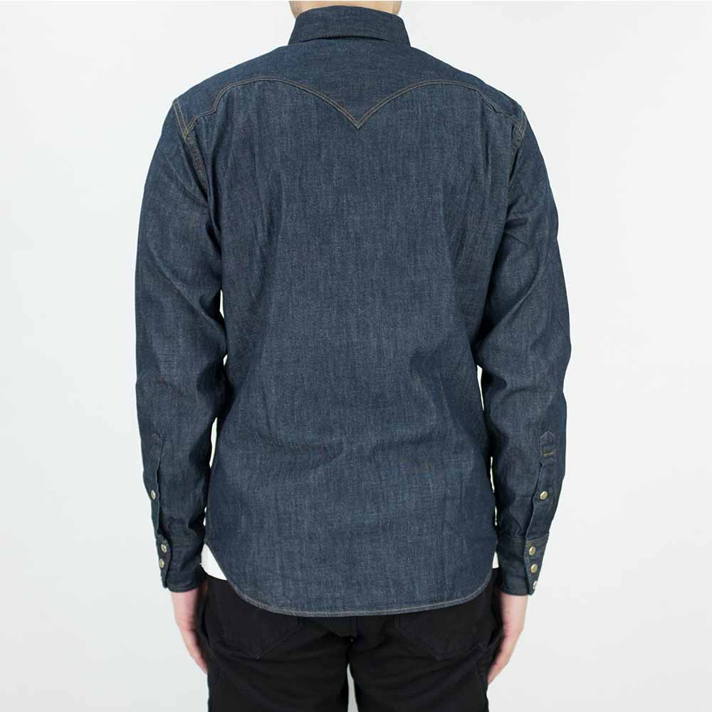 Stevenson Overall Co. Cody Shirt - Indigo 3