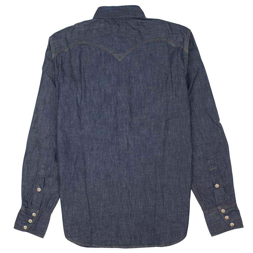 Stevenson Overall Co. Cody Shirt - Indigo 8