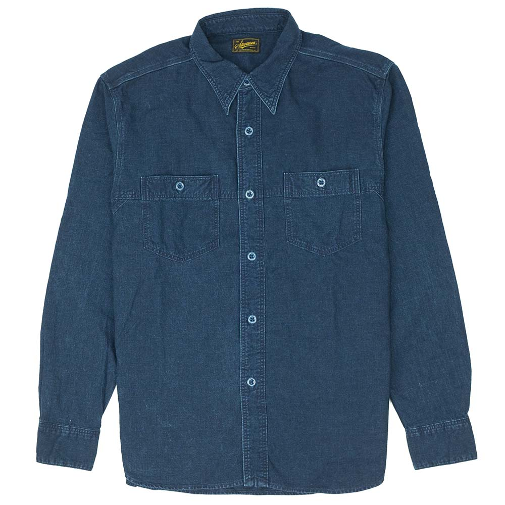 Stevenson Overall Co. Smith Shirt - Indigo 1