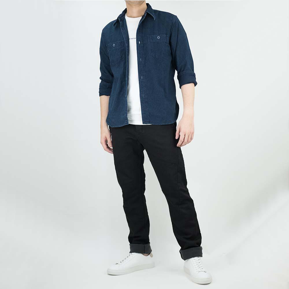 Stevenson Overall Co. Smith Shirt - Indigo 10