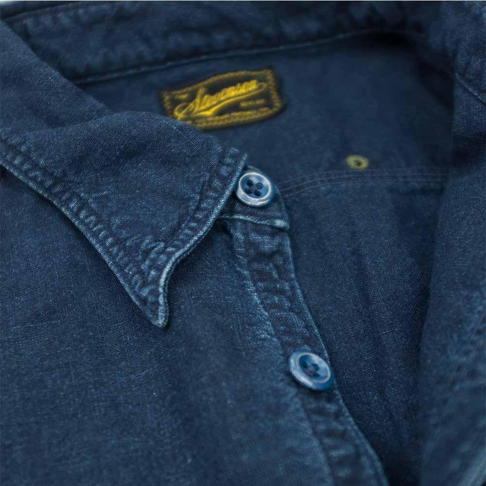 Stevenson Overall Co. Smith Shirt - Indigo 5