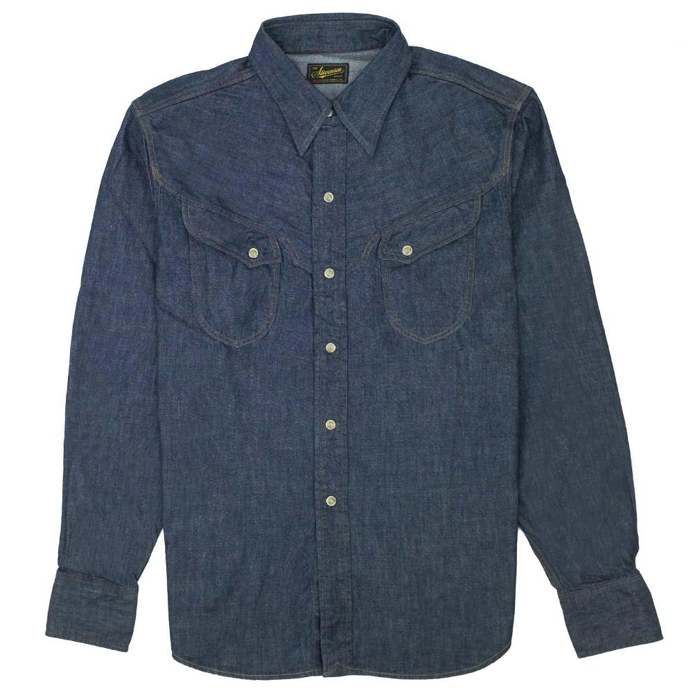 Stevenson Overall Co. Trigger Shirt - Indigo 1