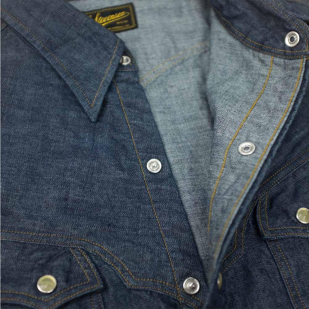 Stevenson Overall Co. Trigger Shirt - Indigo 5