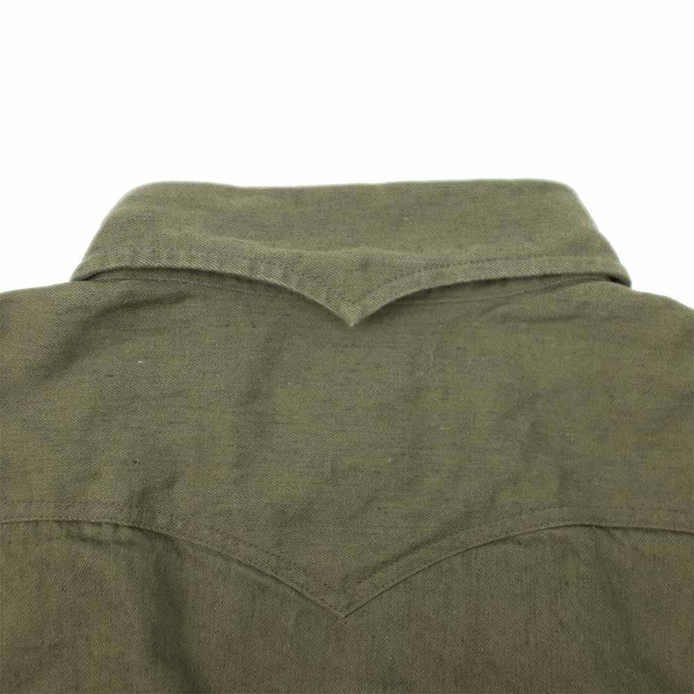 Stevenson Overall Co. Trigger Shirt - Olive 7