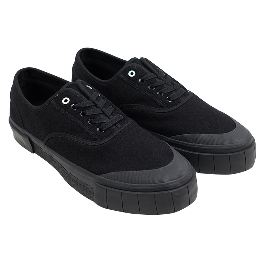 Good News Softball 2 Low Sneaker- Black 1