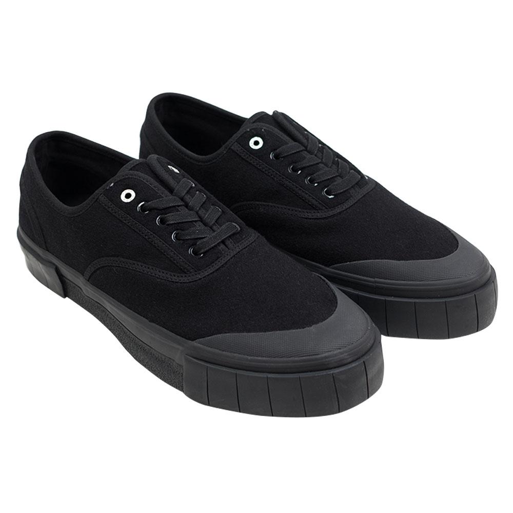 Good News Softball 2 Low Sneaker- Black 1