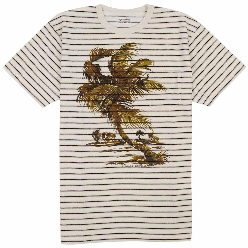 Stevenson Overall Co. Terry Cloth Beach Shirt - Ivory