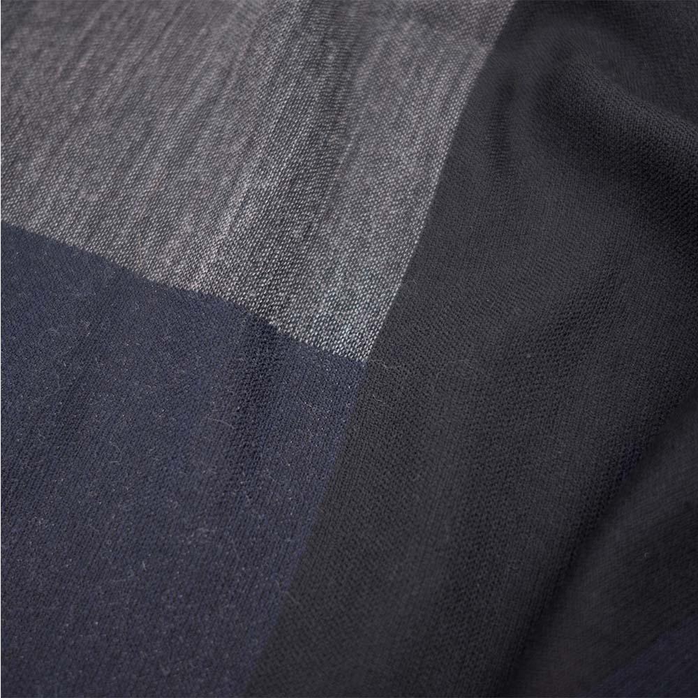 Filippa K Jacquard Wool Scarf - Mix blue
