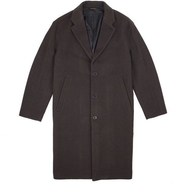 Filippa K Lyon Wool Coat - Dark Mole