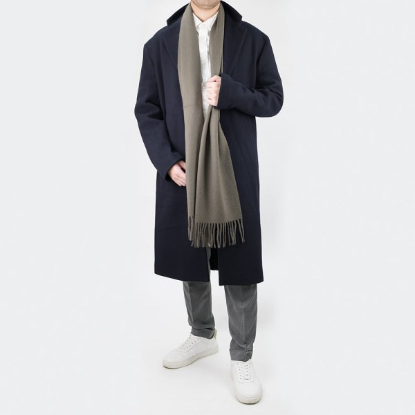 Filippa K Lyon Wool Coat - Dark Navy