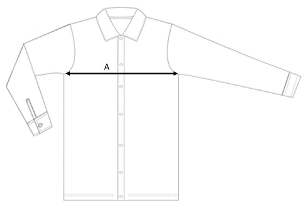 Filippa K Shirt Size Measurement