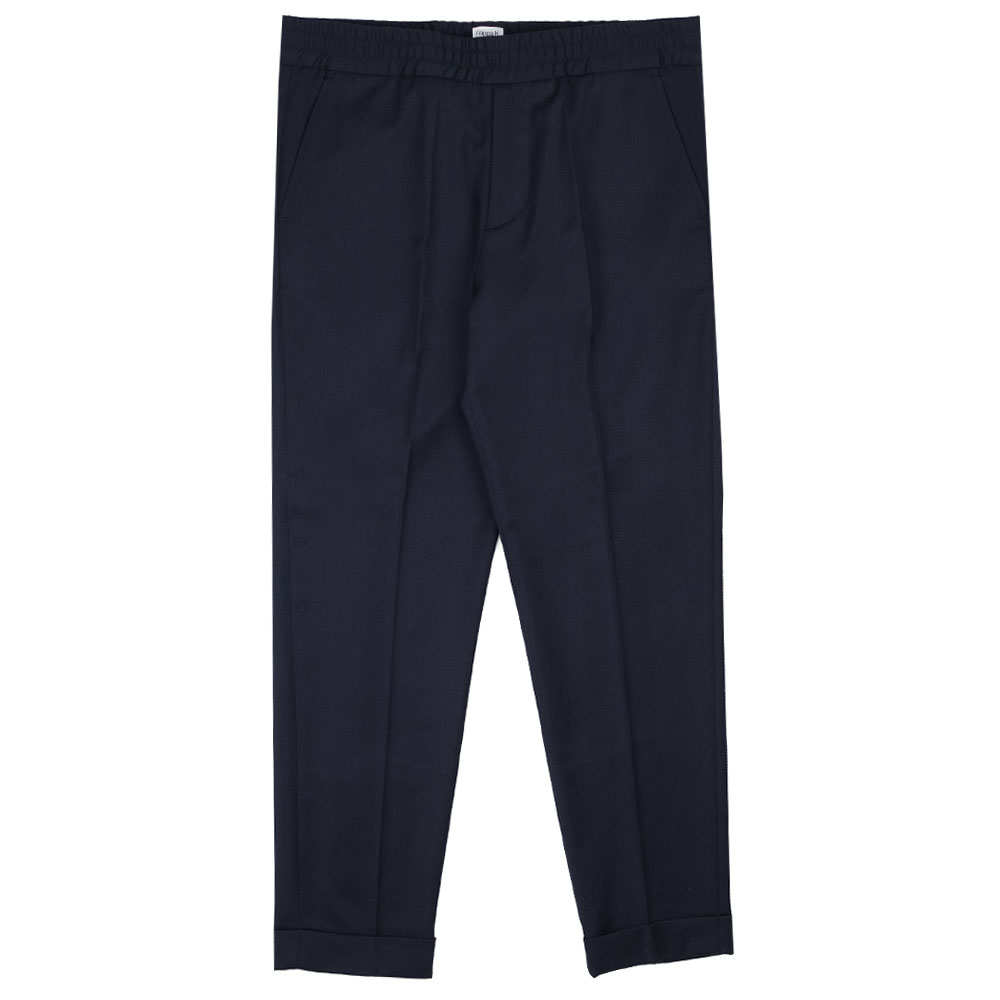 Filippa K Terry Cropped Trouser - Navy