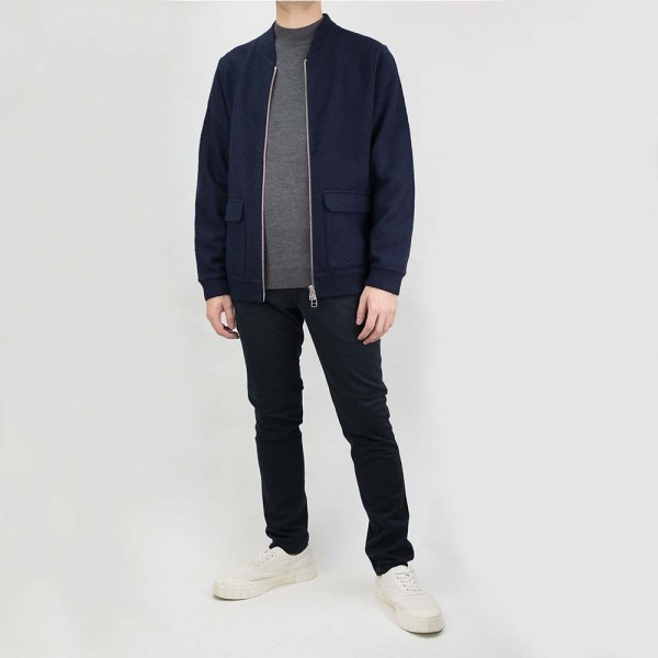 NN07 Boiled Bomber Jacket