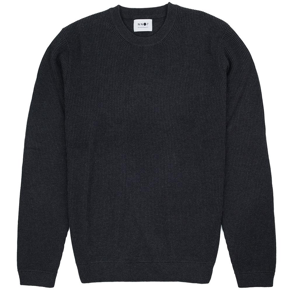 NN07 Phil Sweater - Antracite Grey Mel
