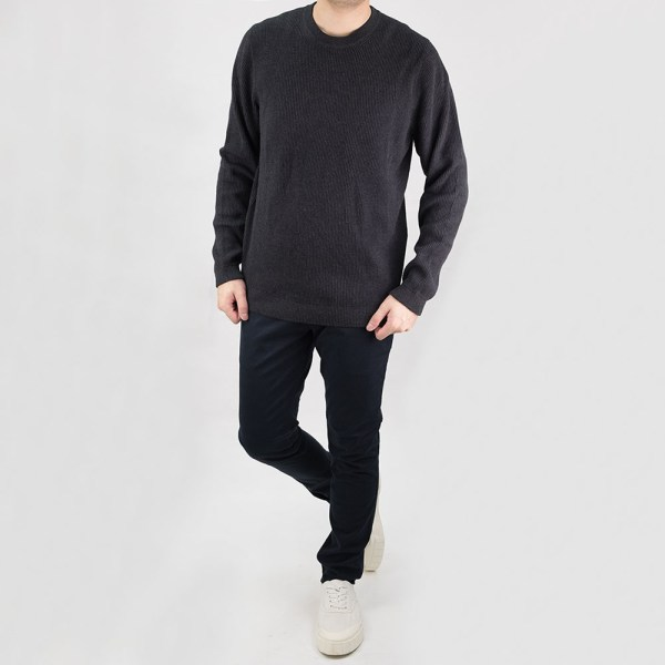 NN07 Phil Sweater - Antracite Grey Mel