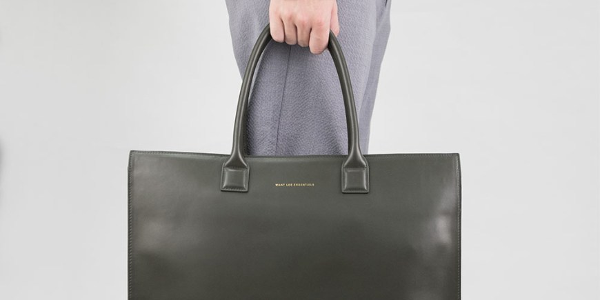 WANT Les Essentiels Dresden Structured Tote blog