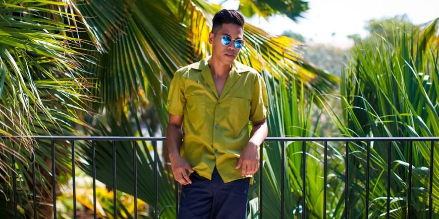 Cuban collar shirt blog