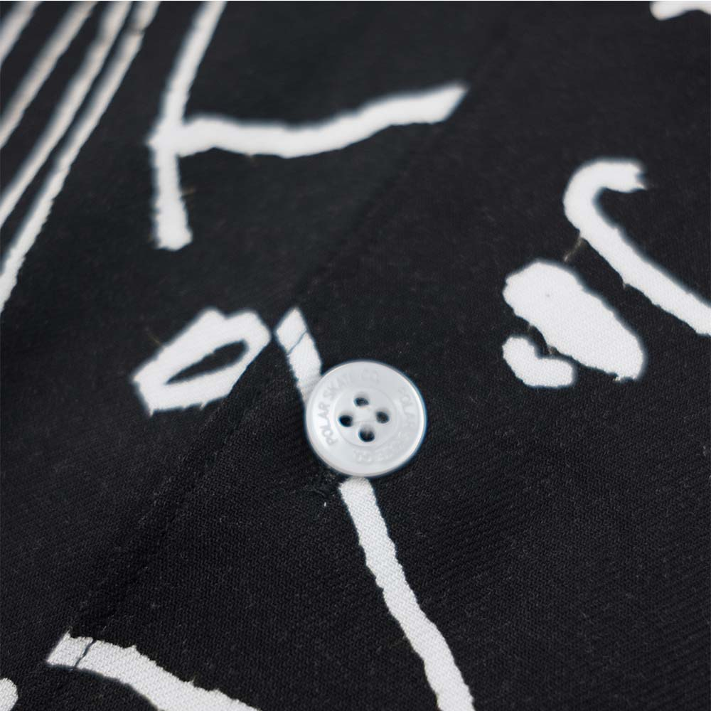 Polar Skate Co. Art Shirt - Alv - Black