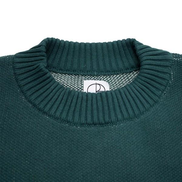 Polar Skate Co. Polar Knit Sweater - Dark Green