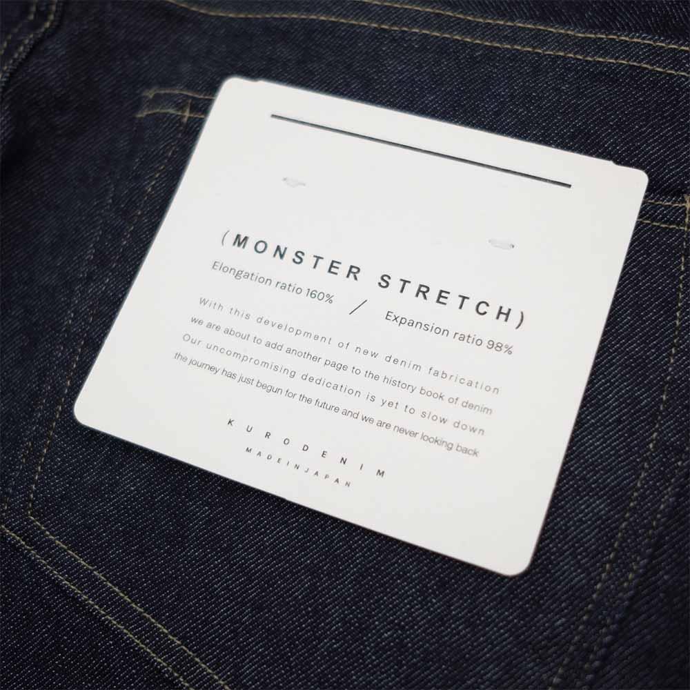 Kuro Helvetica One Wash Monster strectch - Indigo