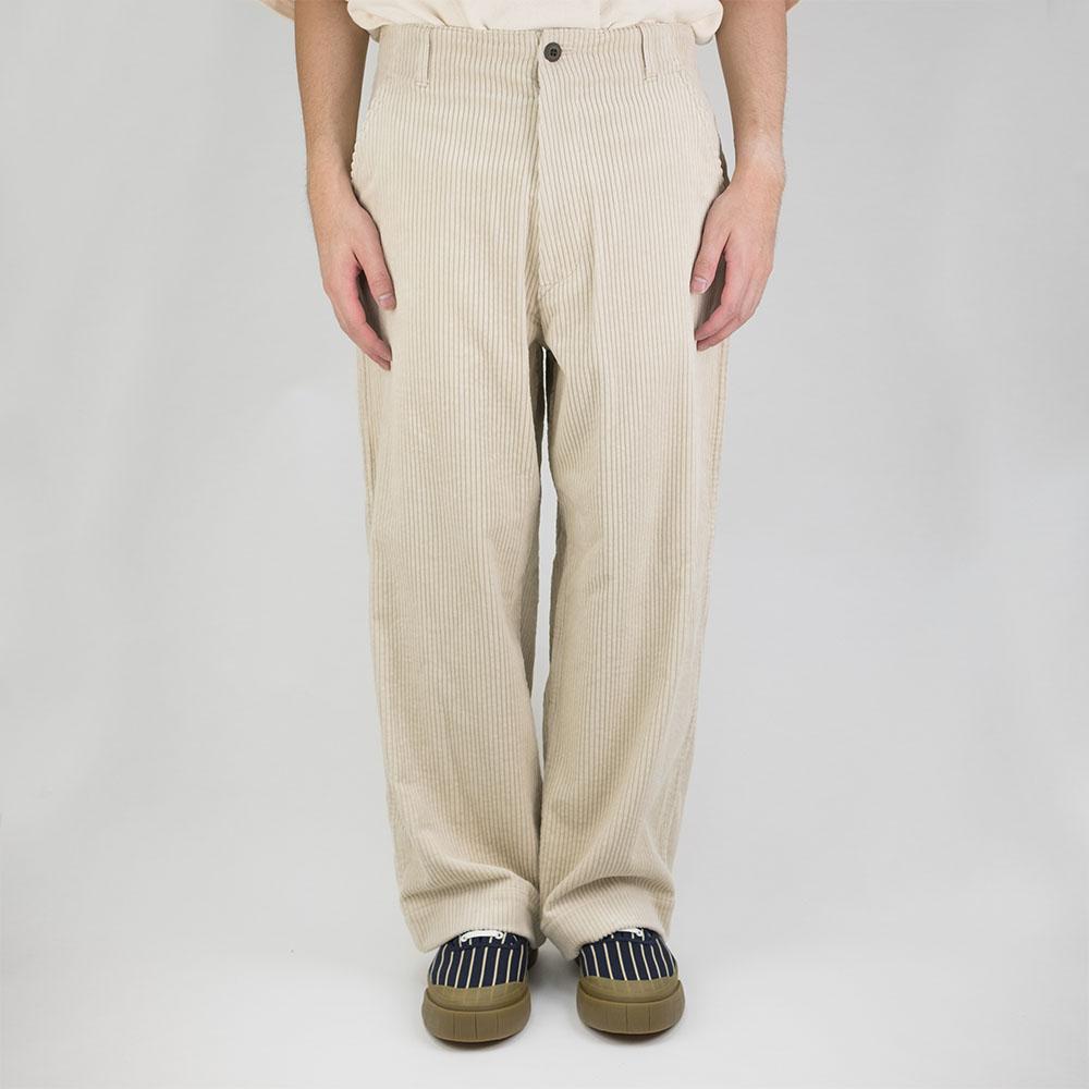 Kuro Wide Trouser - Ivory