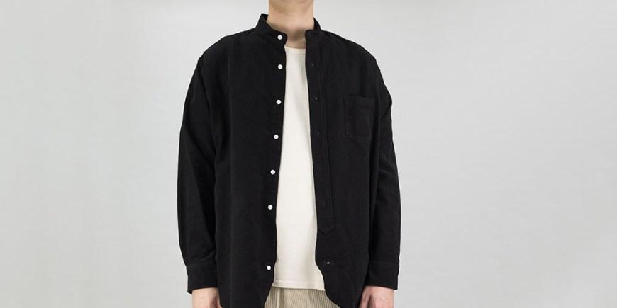 Kuro-Band-Collar-Big-Shirt-blog