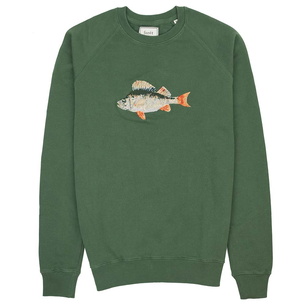 forét Bait Sweatshirt - Dark Green