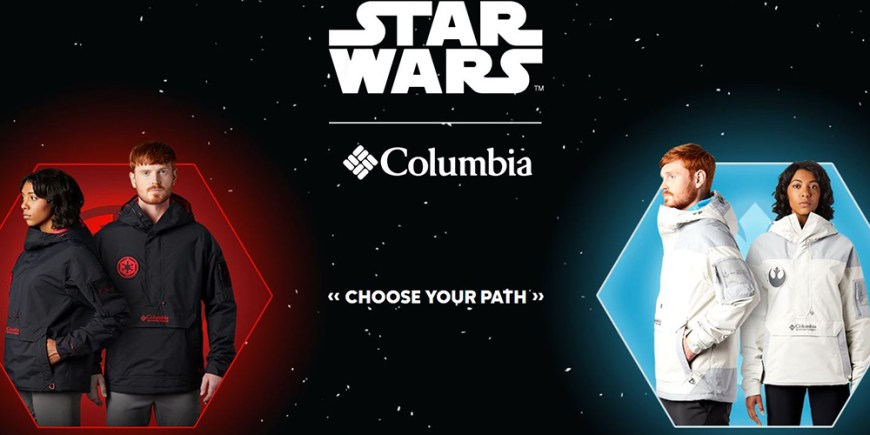 Columbia x Star Wars blog