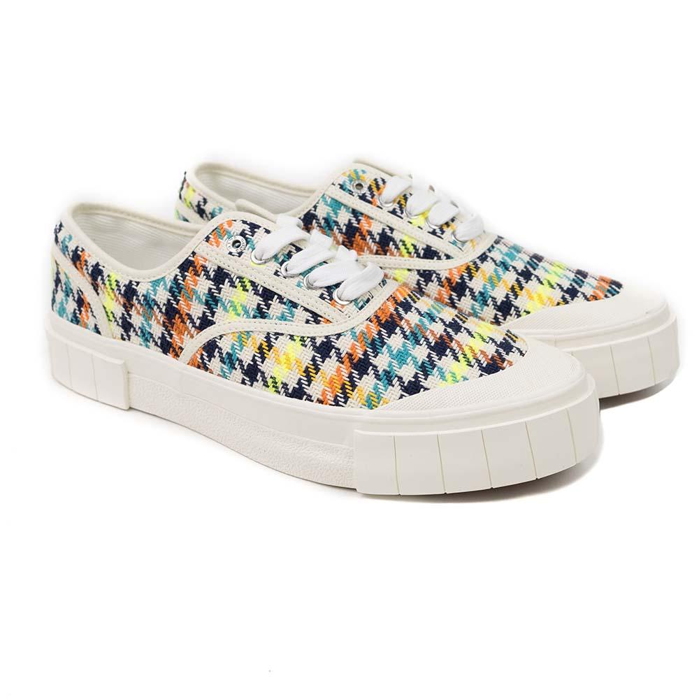 Good News Ace Sneaker - Neon Check