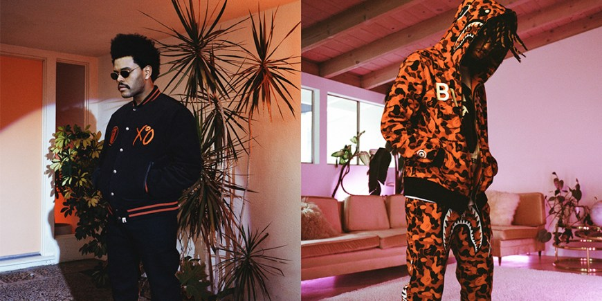 BAPE x The Weeknd blog