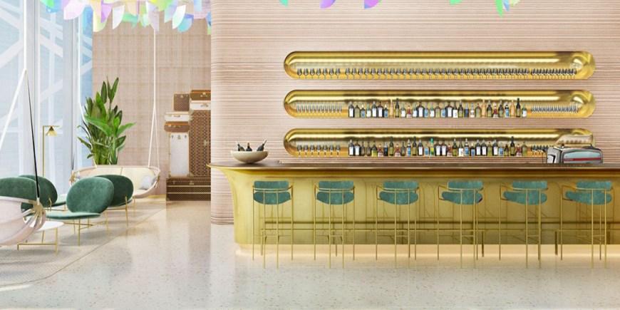Lousi Vuitton first restaurant