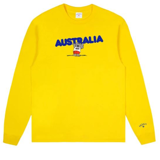 NOAH Australia Benefit Long-Sleeve Tees 3