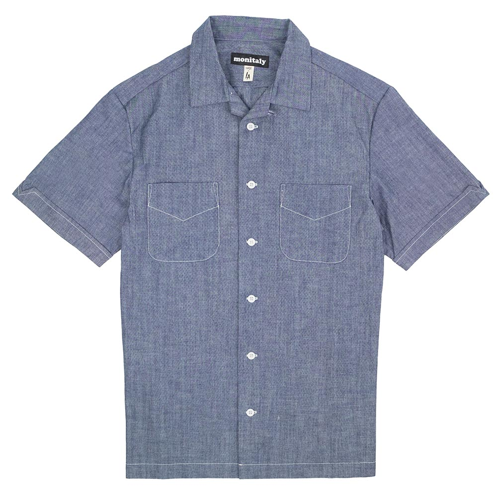 Monitaly Vacation Shirt - Chambray