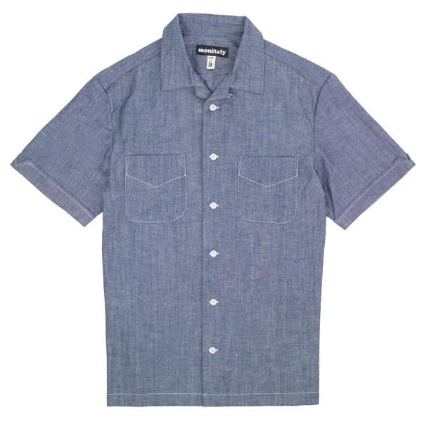 Monitaly Vacation Shirt - Chambray