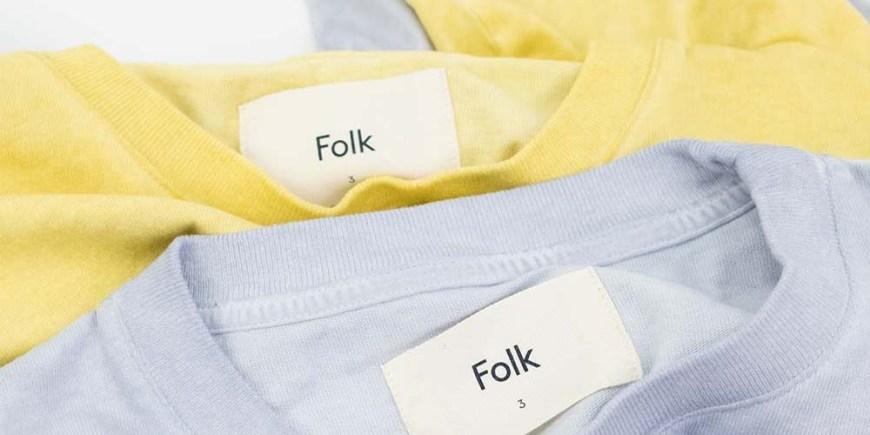 Folk Contrast Sleeve Tee blog