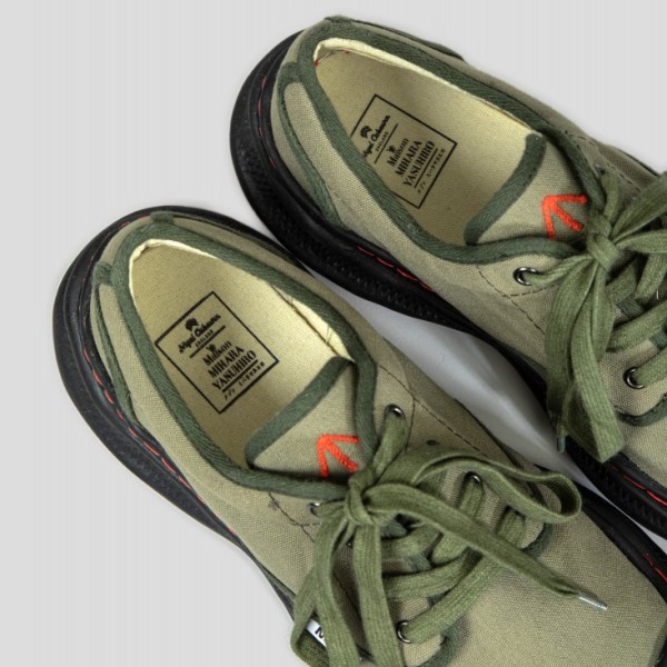 Nigel Cabourn X Mihara Army Combat Shoes 3