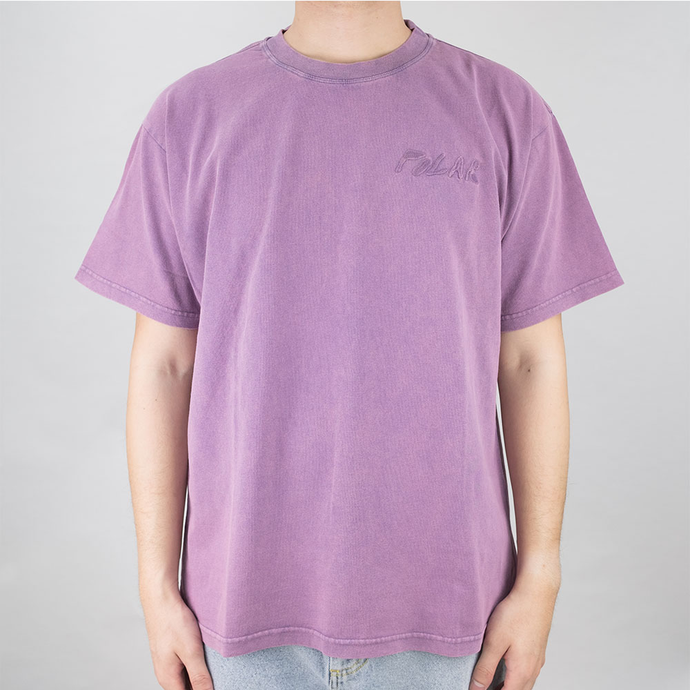 Elvira Logo Tee - Purple