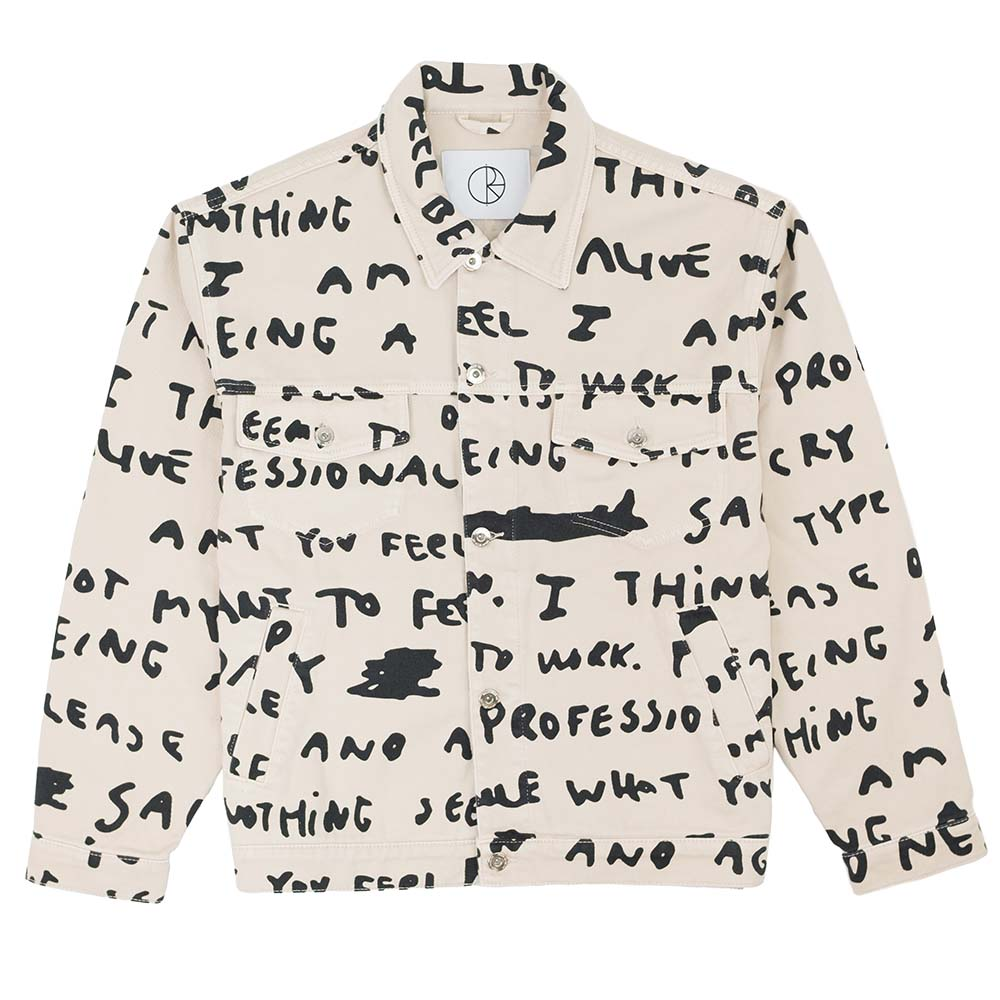 Jean Jacket Sad Notes