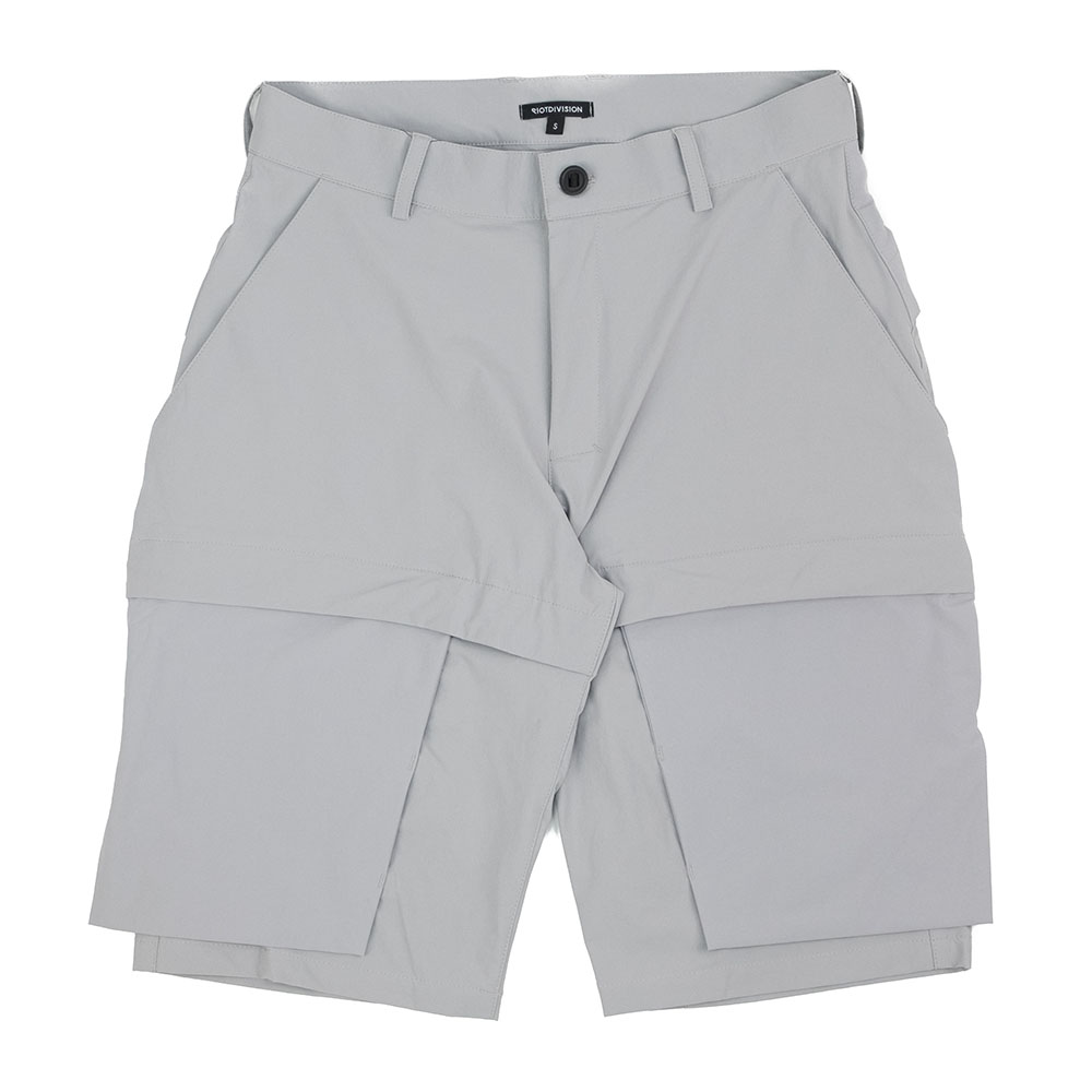 Riot Division Particle Shorts - Grey