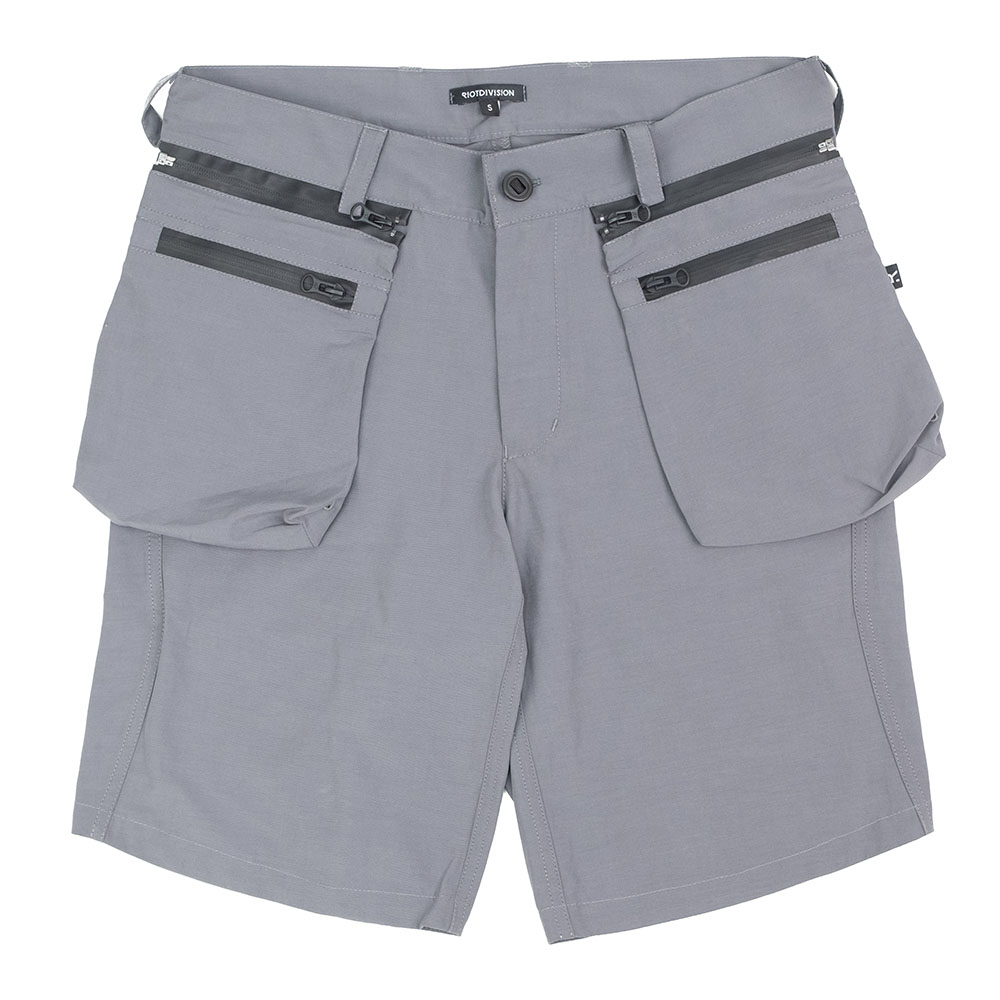 Riot Division Samurai Pockets Shorts Gen2.0 - Grey