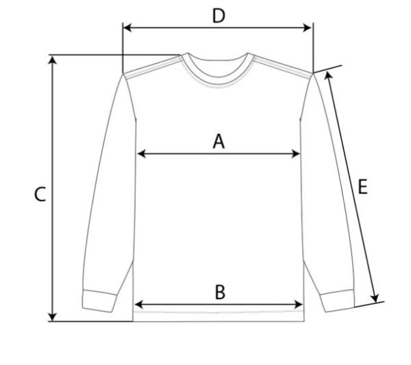 long sleeve size