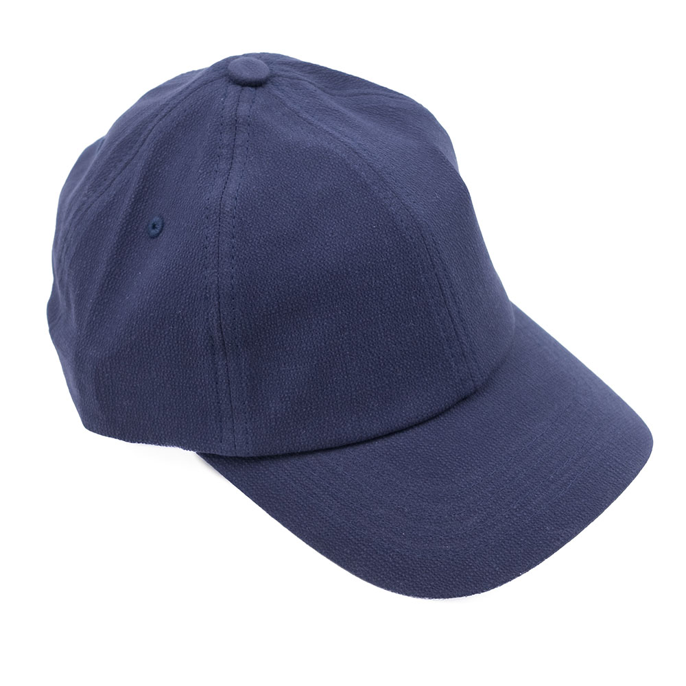 NN07 Seersucker Cap - Navy