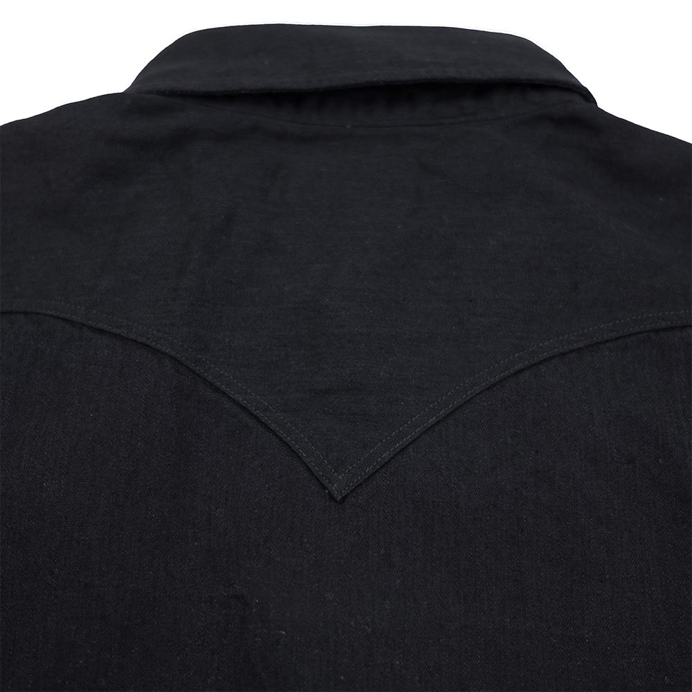 Stevenson Overall Co. Cody Shirt - Black