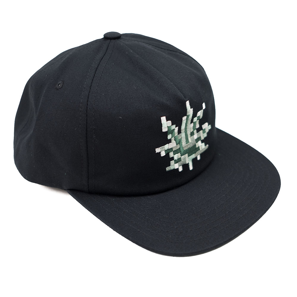 HUF Censored Snapback Hat - Black