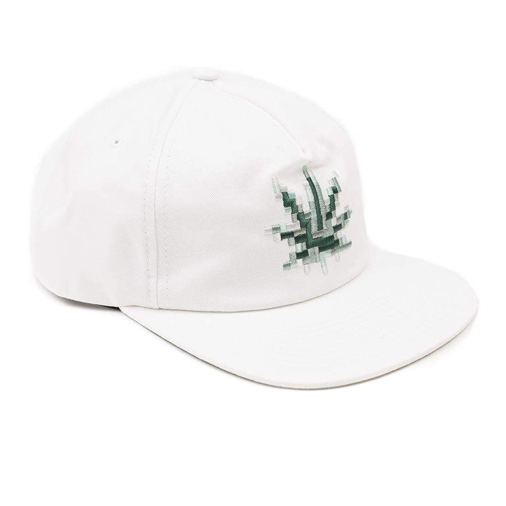 HUF Censored Snapback Hat - White
