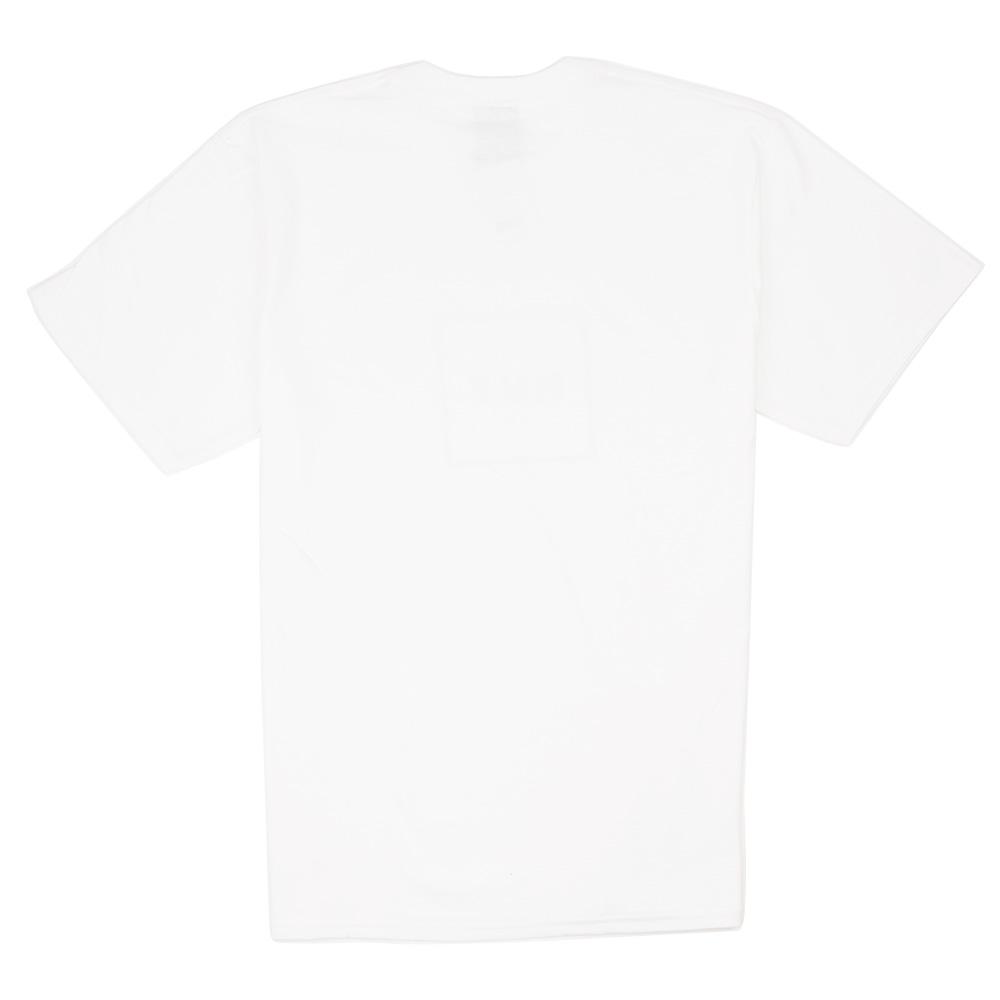 HUF Essentials Box Logo Tee - White
